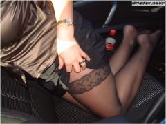 baise en voiture