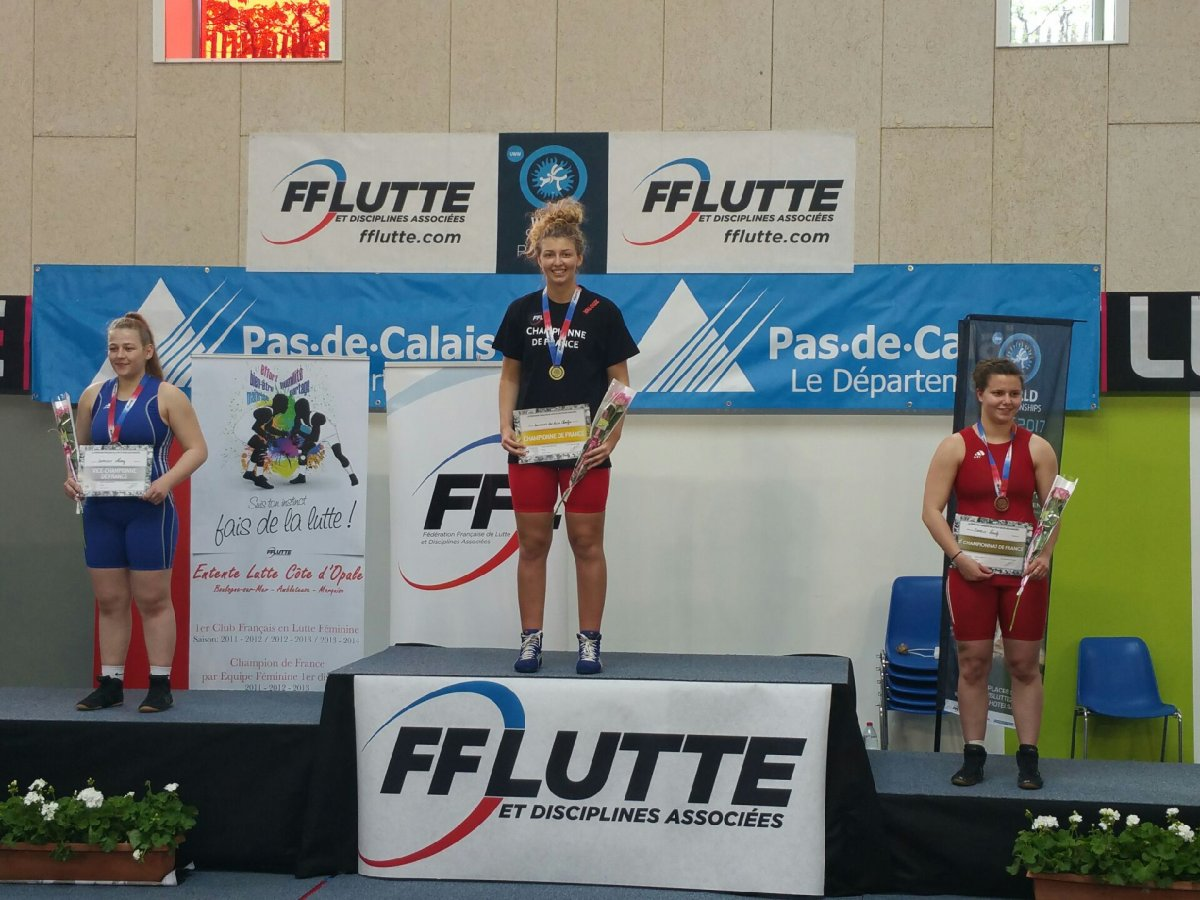 Charlyne - Championne de France Junior 2017
