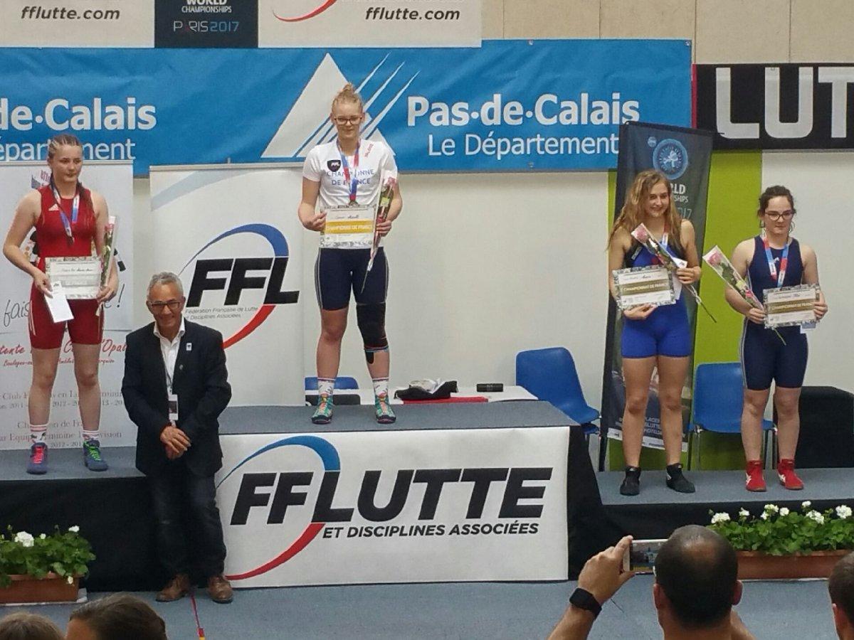 Narcissa - Vice Championne de France Minime 2017