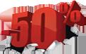 solde 50%