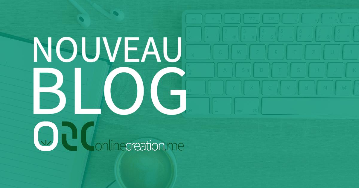 Le nouveau blog est arrivé !