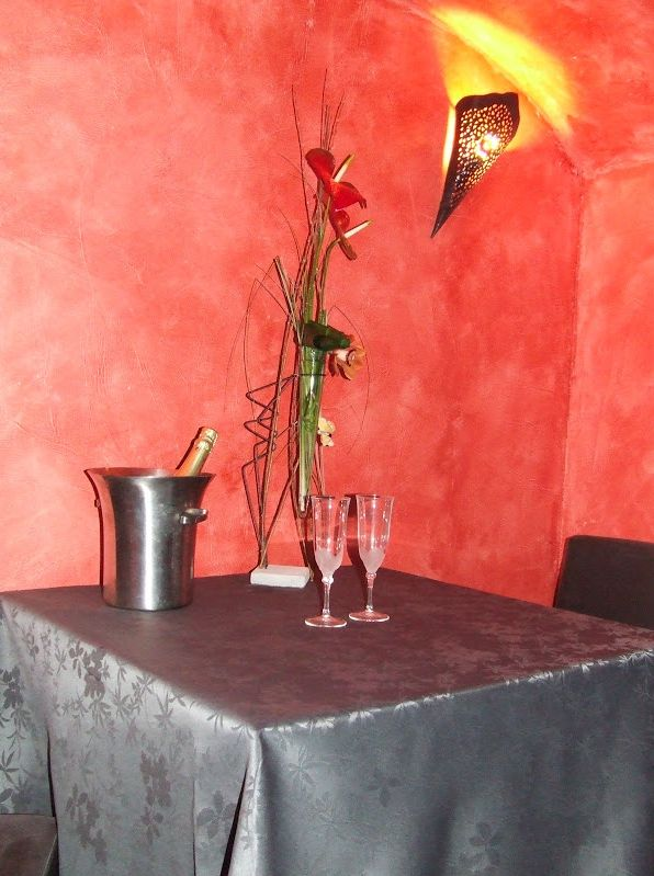 Champagne en amoureux