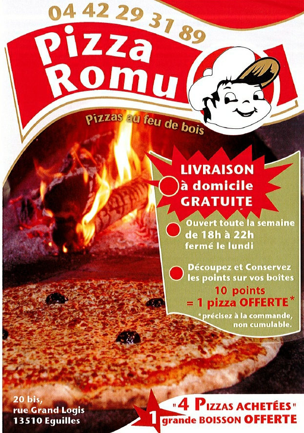 Pizza Romu Eguilles