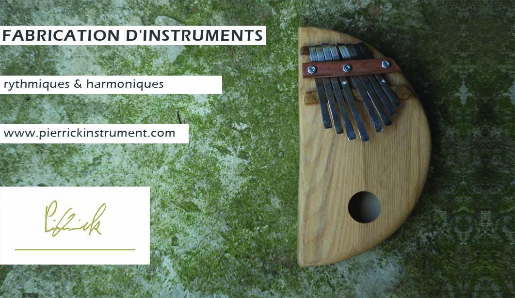 www.pierrickinstrument.com Cajon Kalimba