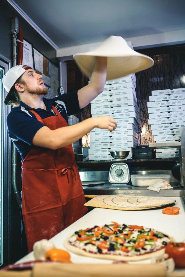 Cuisiner une pizza