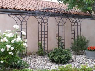 Pergola Gloriette Arche De Jardin En Fer Forge