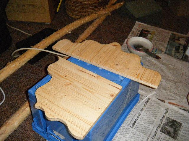 Fabrication de mon butaï