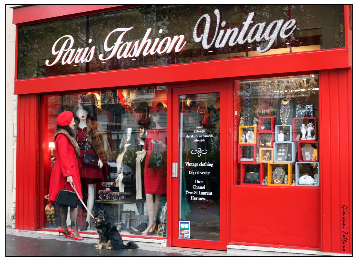 boutique Paris Fashion Vintage