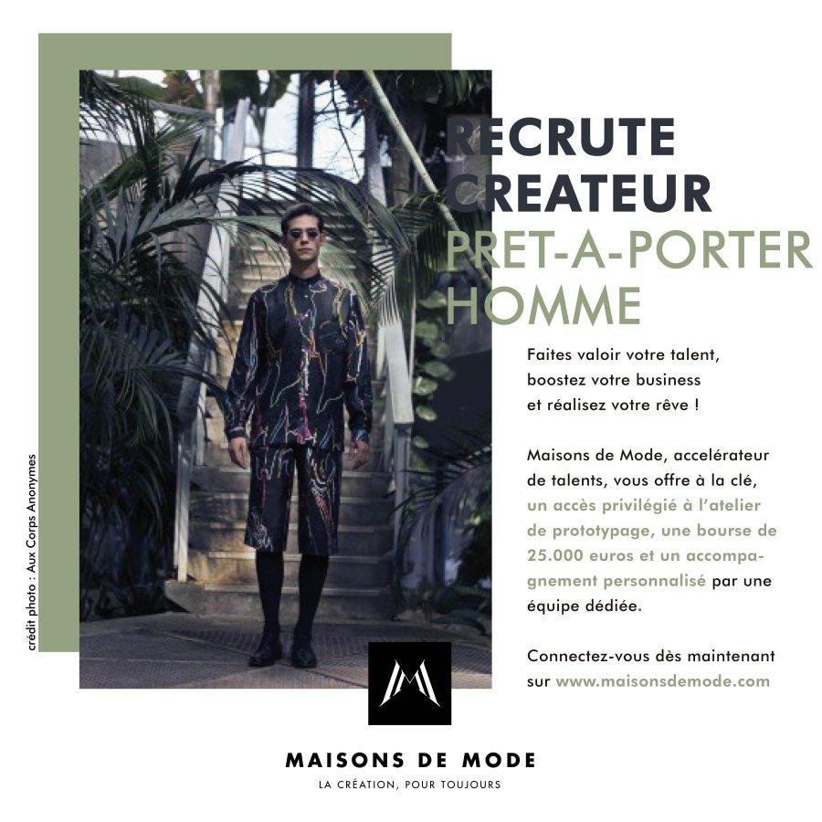 concours createurs maison de mode