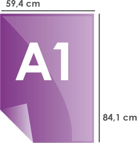 Format papier A1 594 x 841 mm
