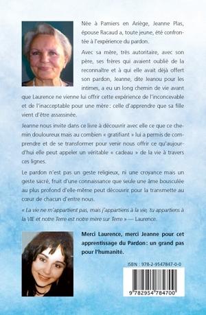 Livre de Jeanne RACAUD (verso)
