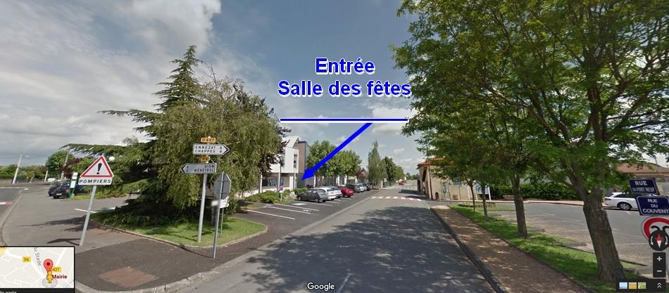 Salle des fêtes Saint-Beauzire