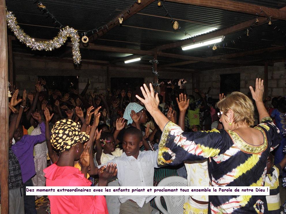 Fête des enfants démunis : tous unis dans la prière