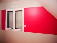 peinture chambre d'enfant  56190 LE GUERNO morbiahn