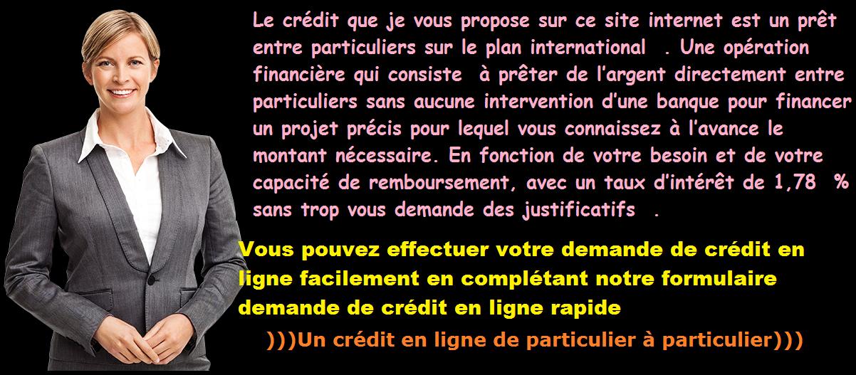 Credit rapide en ligne entre Particuliers reference par Annuaire Marseille