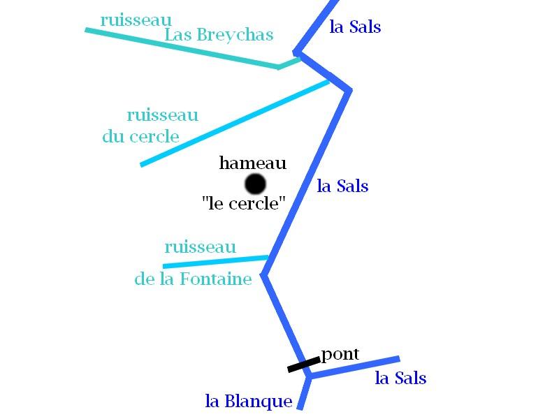 """Les alentours du hameau """" Le Cercle"""" - Rennes-les-bains - Thierry Espalion"""