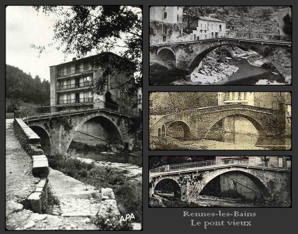 """Le """"pont vieux"""" de Rennes-les-Bains - Thierry Espalion"""