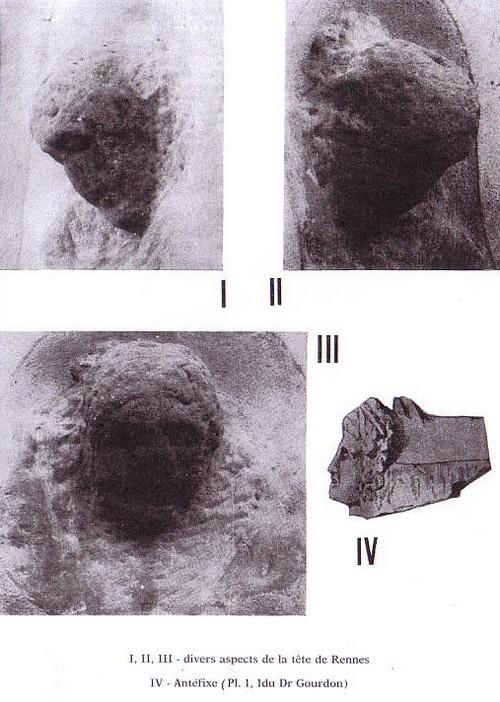 note sur une tête sculptée sesa tome 69