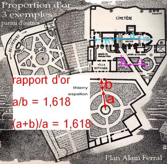 plan alain ferral et nombre d'or thierry espalion