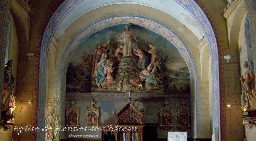 rennes le château église thierry espalion