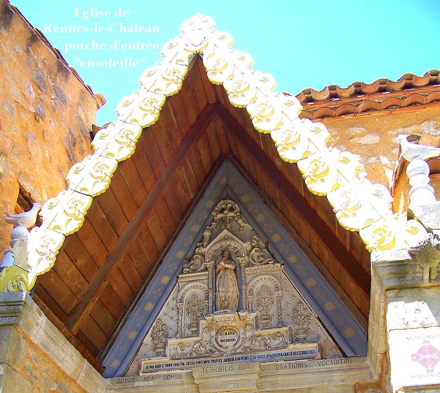 rennes le château porche tympan église thierry espalion
