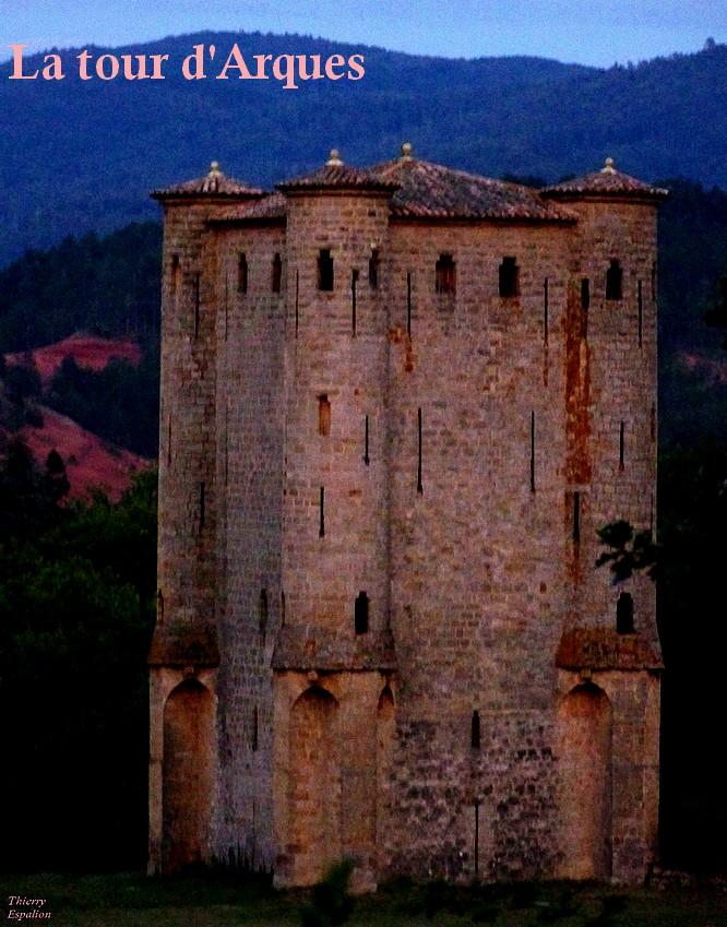 la tour donjon d'Arques thierry espalion