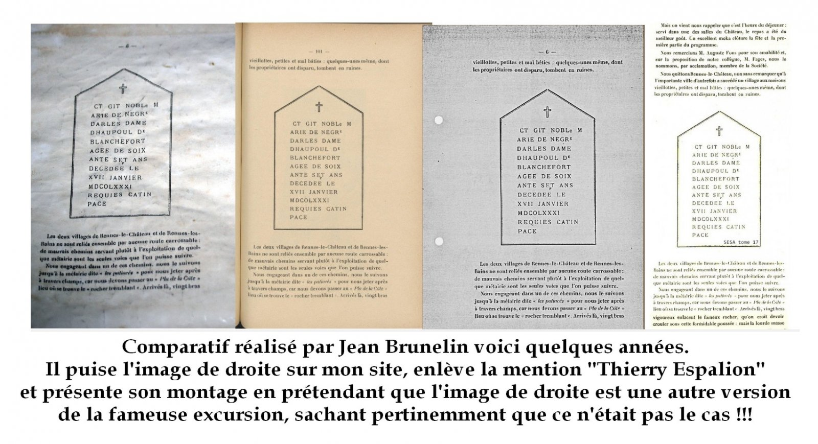Montage entubage Jean Brunelin