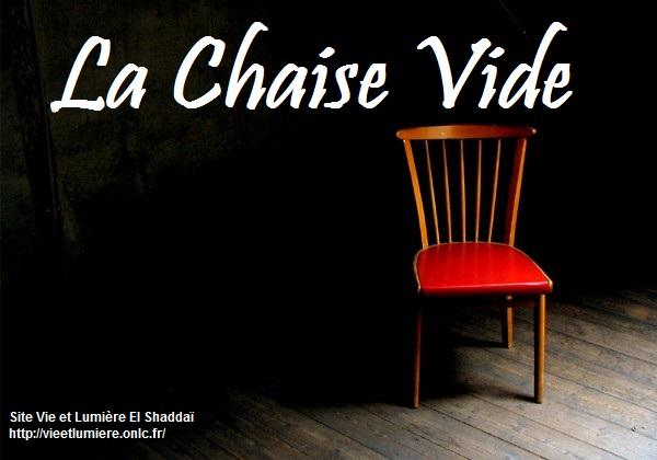 La Chaise Vide