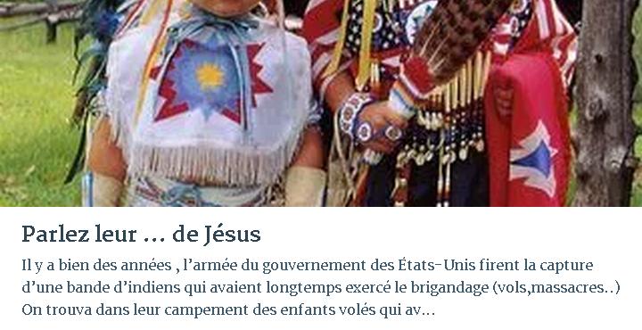 PARLEZ LEUR … DE JÉSUS