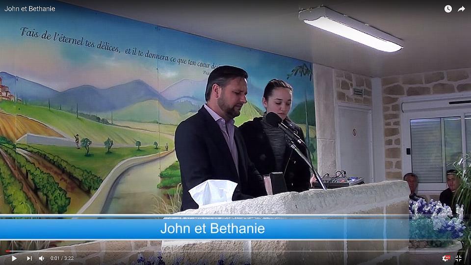 John et Bethanie