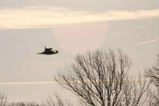 A strange UFO over Wichita,USA the february 29,2009