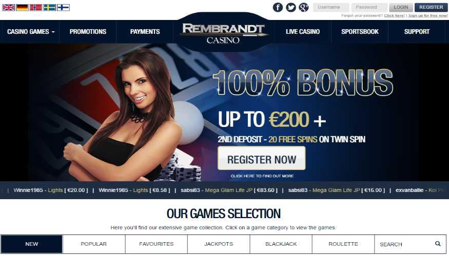 Rembrandt casino is real online gambling Featuring a live casino with online slots 153425628193